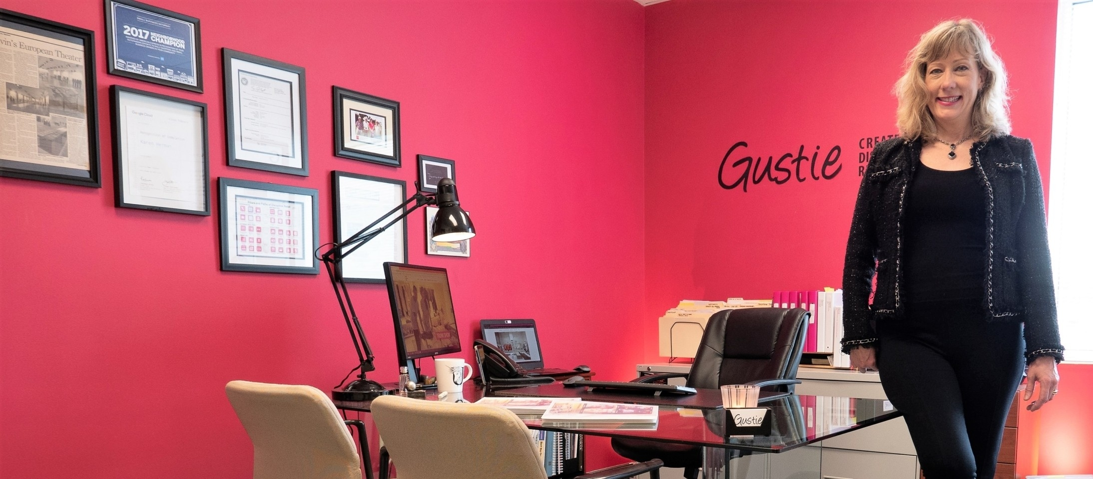 About Gustie, Karen S. Herman, Founder and CEO at Gustie Creative LLC