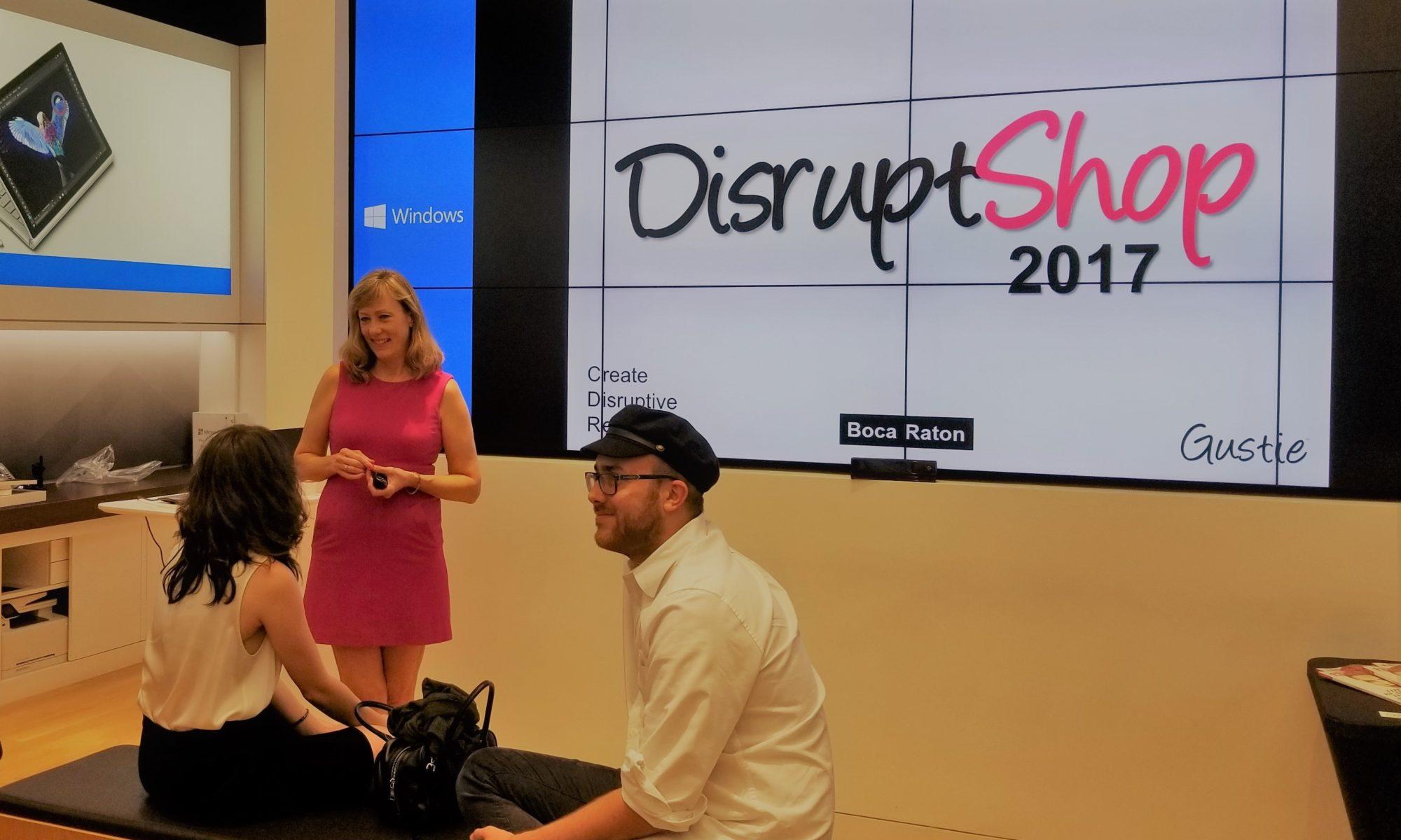 Gustie Creative DisruptShop