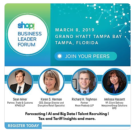Shop! Business Leader Forum, March 2019
