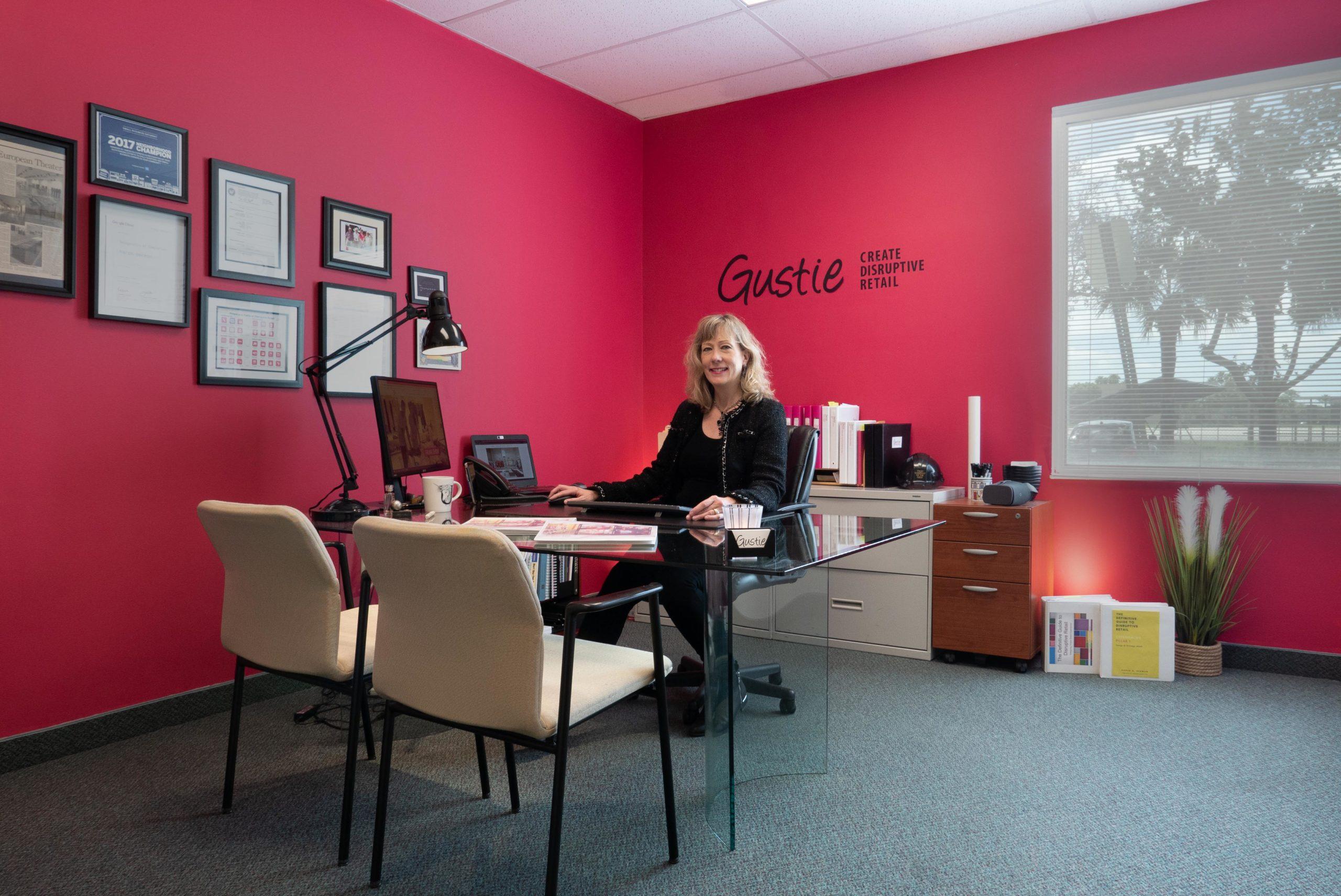Karen Herman CEO of Gustie Creative