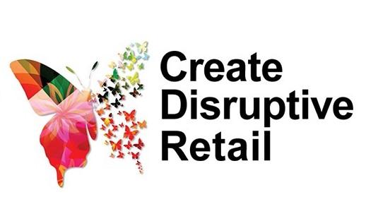 Create Disruptive Retail Logo