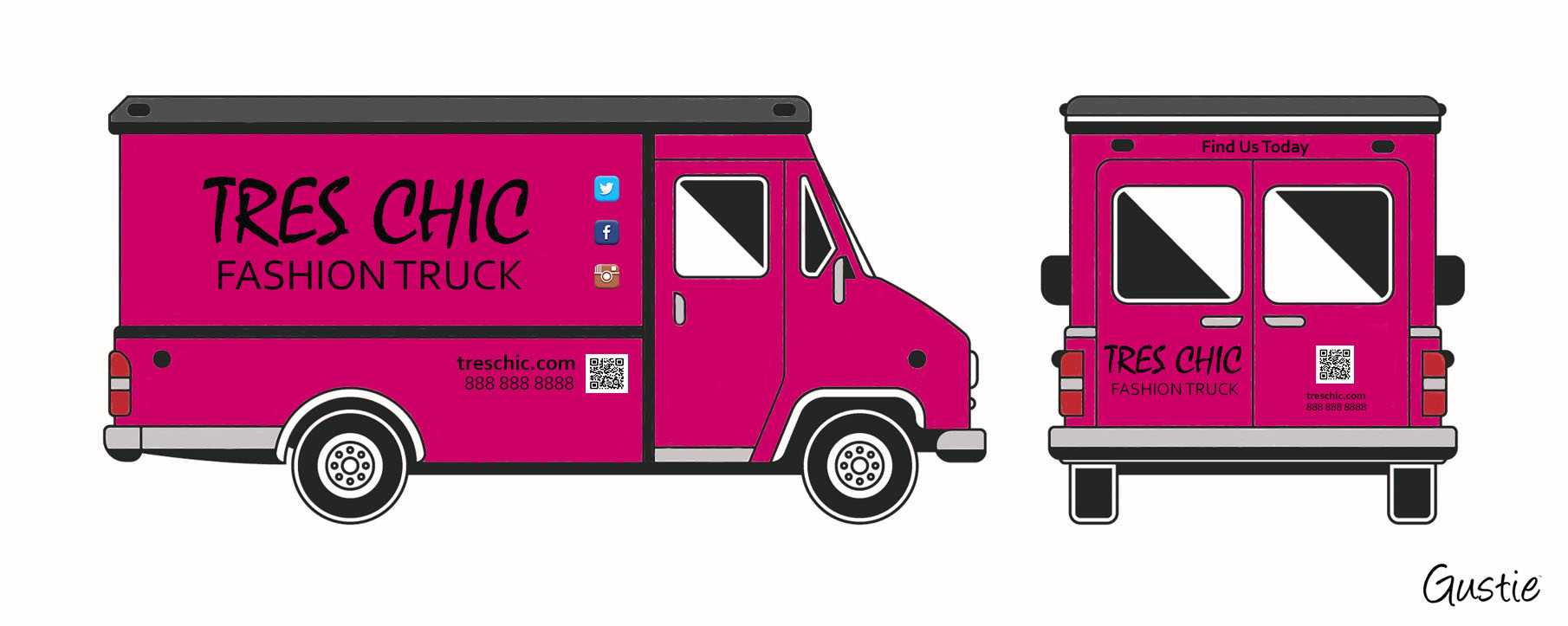 Fashion Truck by Gustie Creative