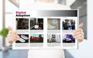 Solutions for Disrupting Disruption, COVID-19 Handbook, Digital Adaption Spread