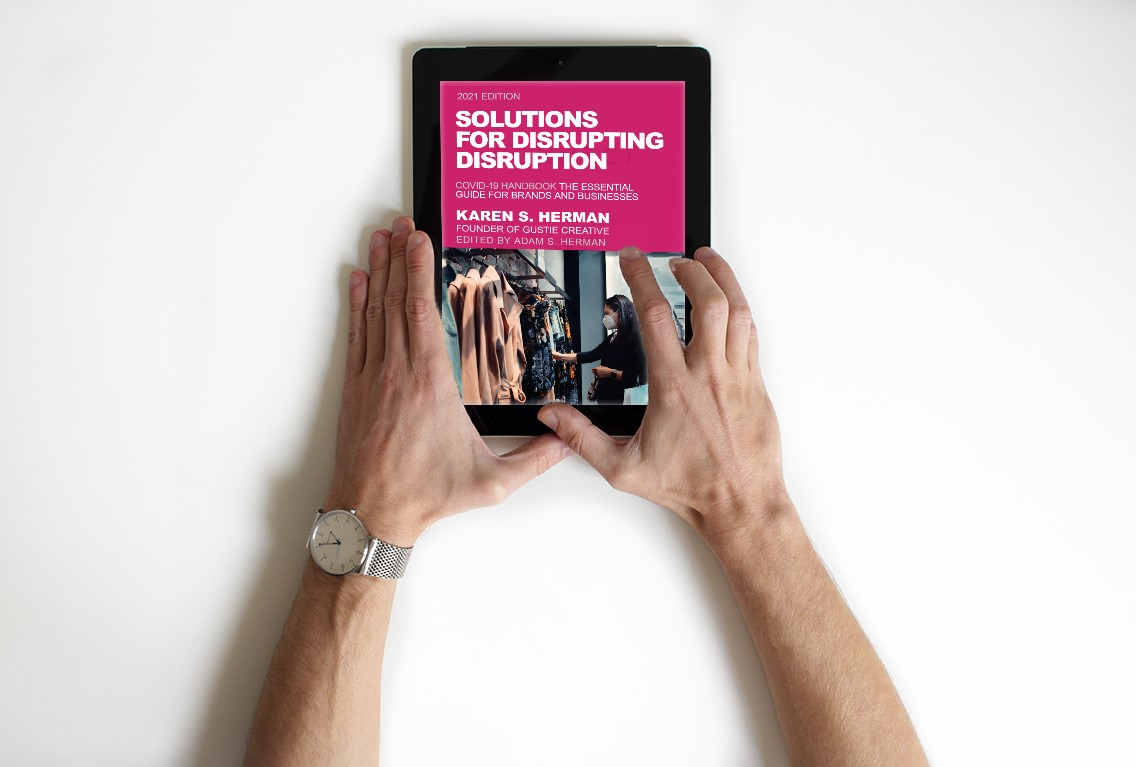 Solutions for Disrupting Disruption, COVID-19 Handbook, eBook with Male Reader